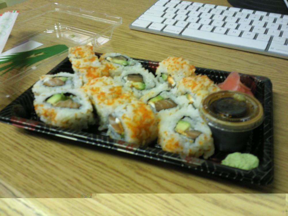Sushi by the UIC Marketplace
