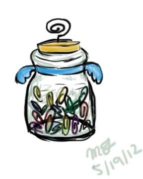 Paperclip Jar