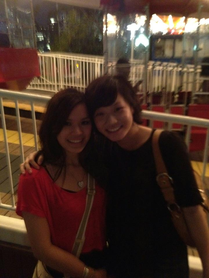 For Simona's birthday, we went to Navy Pier and took a ride on the ferris wheel!