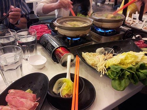 Hot Pot at Chinatown Joy Yee's Shabu Shabu