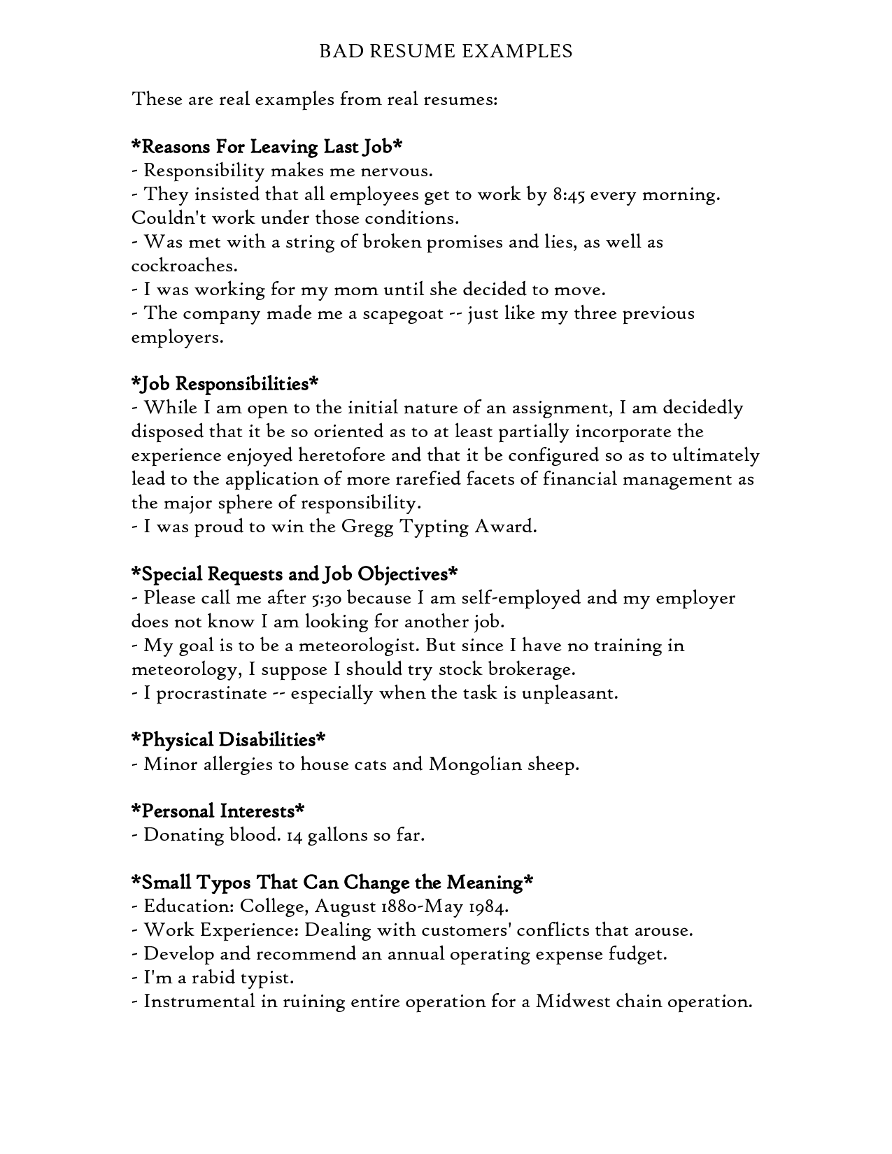 resume Resume Reason For Leaving A Job professional reasons for leaving a job top 10 you should i am uic student trying to transition the world
