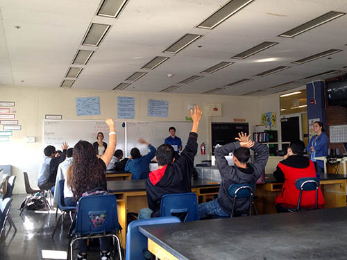 Health Activism Committee at Clemente High School