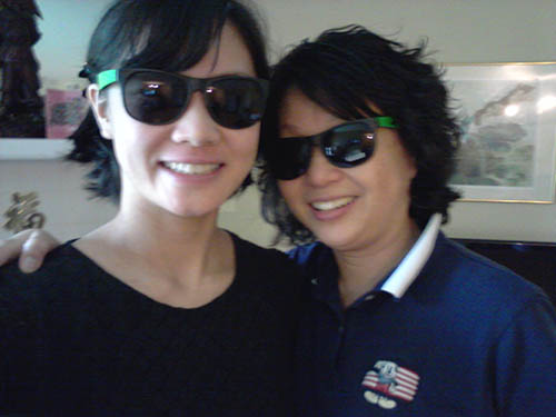 My mom and our kunhangela shades.