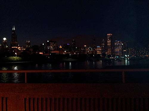 View of Chicago from Shedd Aquarium 2
