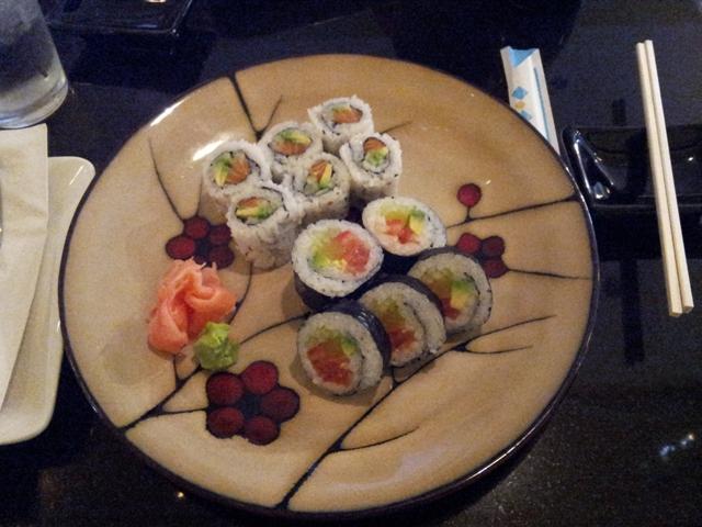 Sushi at Hana