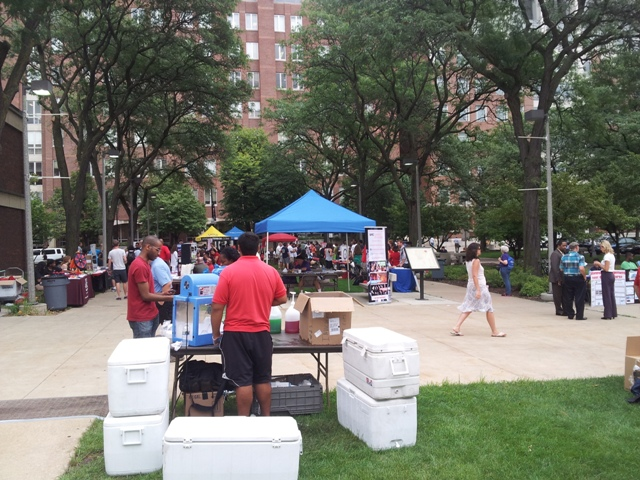 Involvement Fair on West Side