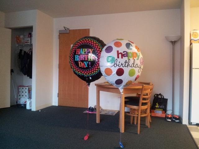 Happy Birthday Roommate