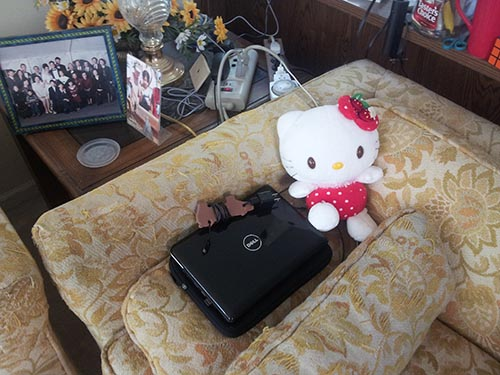 My Netbook and Hello Kitty