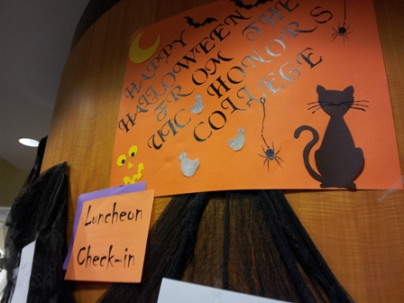 Happy Halloween from the Honors College