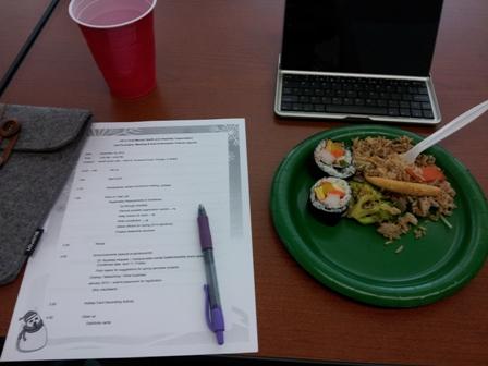 MDHA Meeting Notes and Food